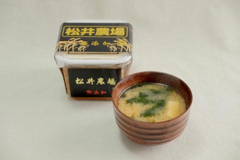 伝統の松井味噌